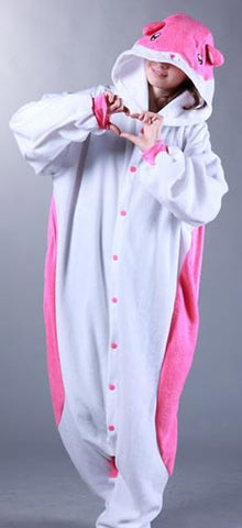 Pink Hamster Pajama Costume - Japanese Cosplay