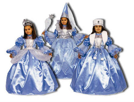 3 in 1 Costume Set: Princess / Fairy / Zarina Costume