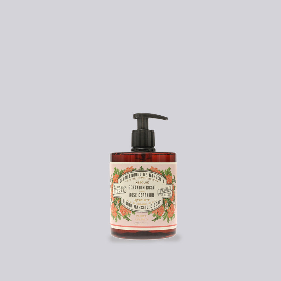 Rose Geranium Liquid Marseille Soap