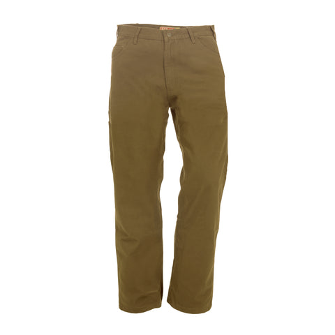 Berne Mens Timber Khaki 100% Cotton Duck Carpenter Pant Jean