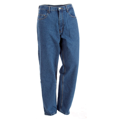 Berne Mens Stone Wash Dark 100% Cotton Classic 5-Pocket Jean