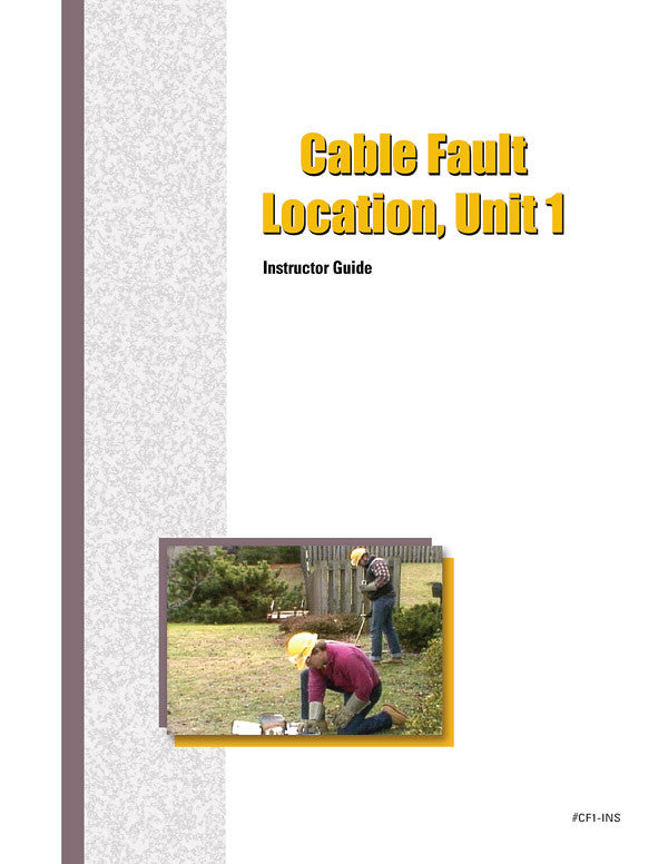 Cable Fault Location 1 - Instructor Guide
