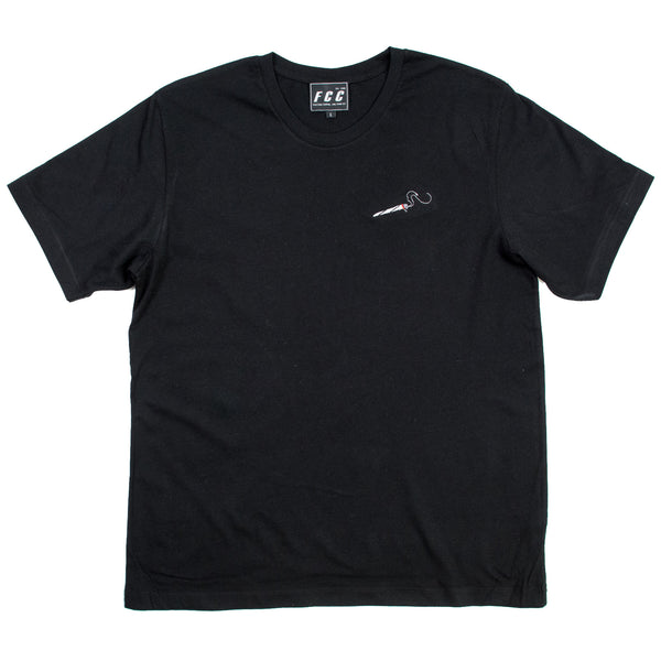 4/20 JOINT EMBROIDERED TEE BLACK