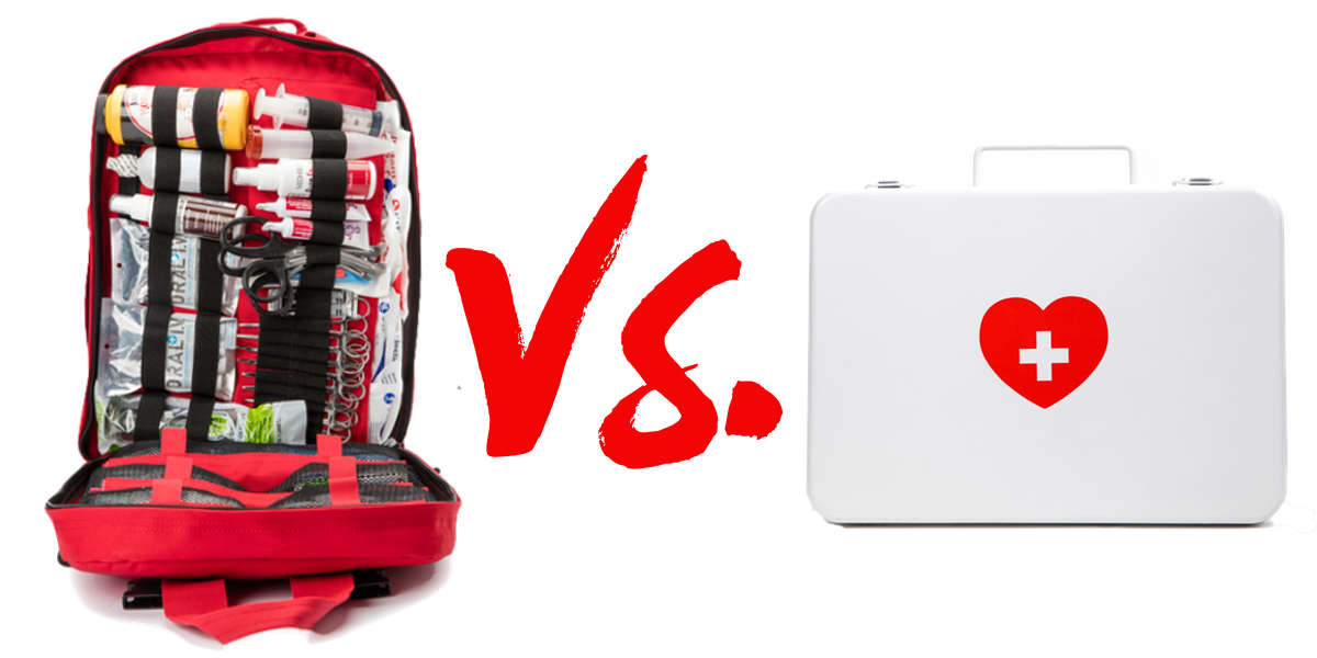 What's The Difference Between a First Aid Kit and a Trauma Kit?