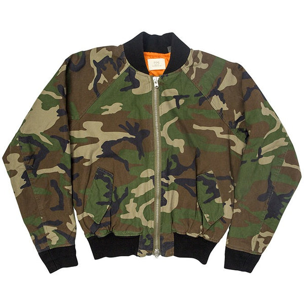 Fear of God FOG x Pacsun Camouflage Bomber Jacket