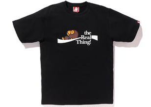 "A BATHING APE BAPE COCA-COLA MILO ""BLACK"" T-SHIRT"