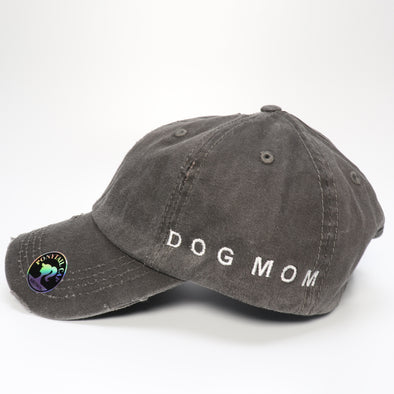 Dog Mom Vintage Ponytail Hat