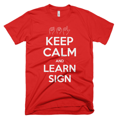 Keep Calm And Learn Sign