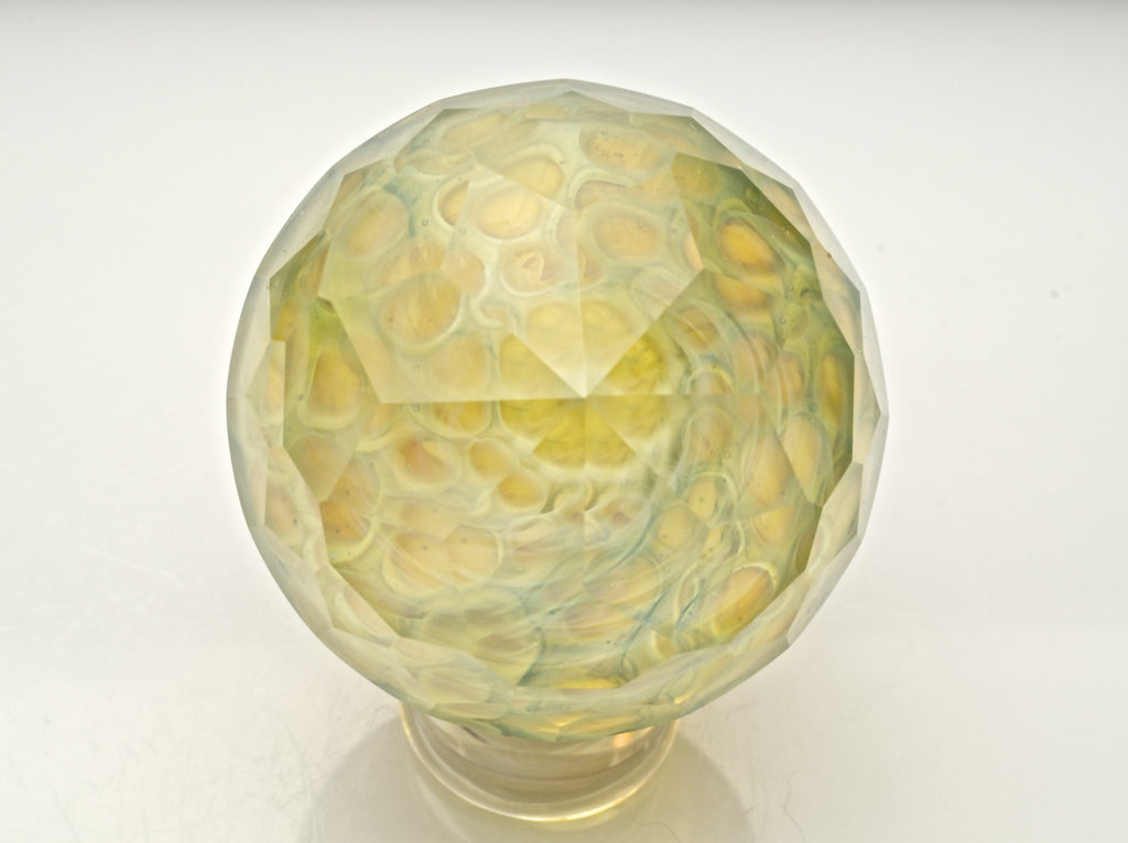 "Sasha Hess x Jesse Dodge ""Fractal Fumigation"" Faceted Collab Marble"