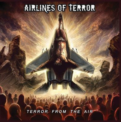 AIRLINES OF TERROR- Terror From The Air CD on Goressimo Rec.