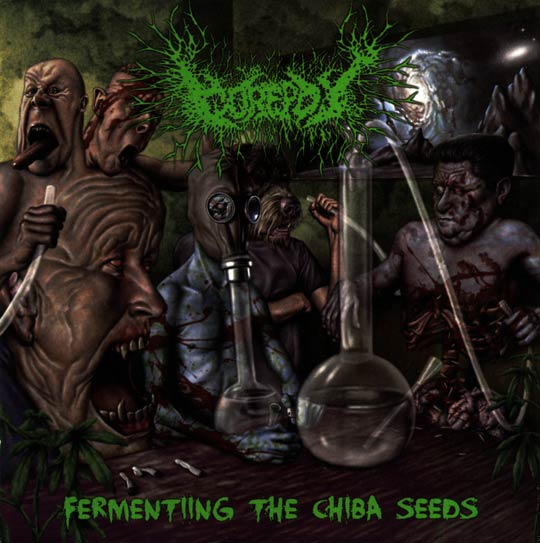Gorepot- Fermenting The Chiba Seeds CD on Brutal Reign Prod.