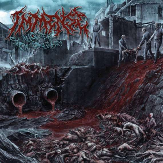 Immense- Slaughter Of Brutality CD on Brutal Mind