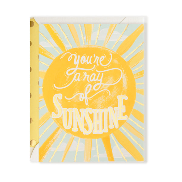 You're a Ray of Sunshine Any Occasion Card