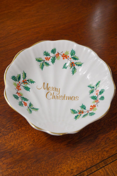 Royal Tara Merry Christmas Dish