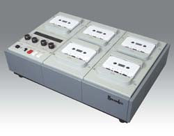 Recordex USA Soundmaster Pro - 4-Channel One-to-Four High-Speed Stereo Cassette Duplicator