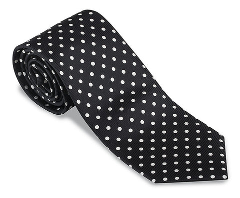 black neckties
