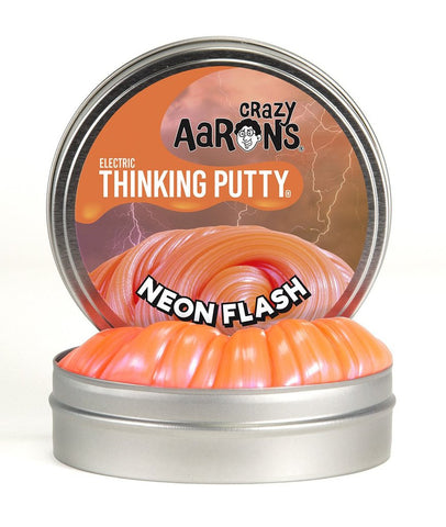 "2"" Neon Flash Crazy Aaron's Thinking Putty Mini Tin"