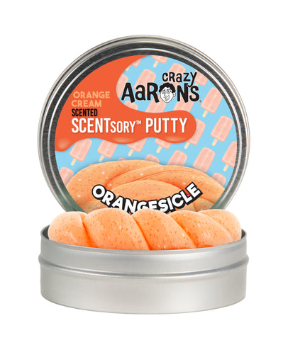Crazy Aaron's SCENTSory Putty- Orangesicle