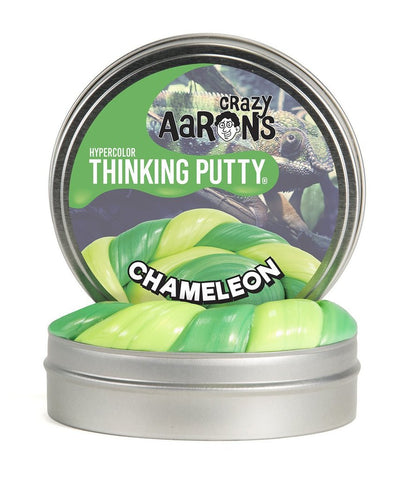 "2"" Chameleon- Hypercolors- Crazy Aaron's Thinking Putty - Color Changing Mini Tins"