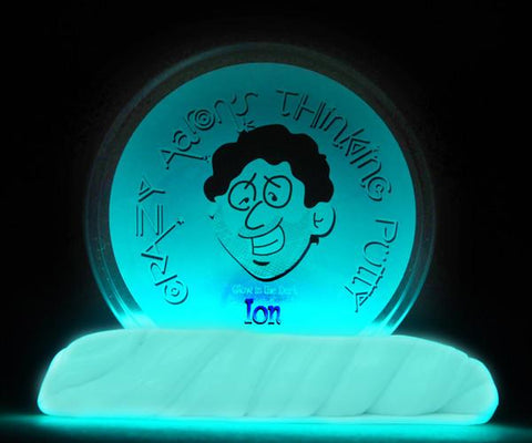 "2"" Ion- Glow in the Dark- Crazy Aaron's Thinking Putty"