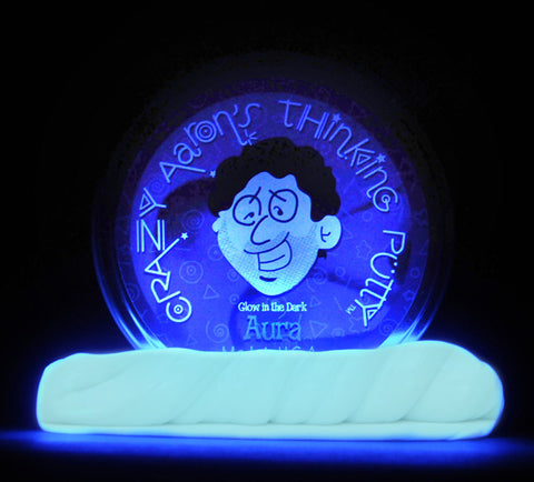 "2"" Aura- Glow in the Dark- Crazy Aaron's Thinking Putty"
