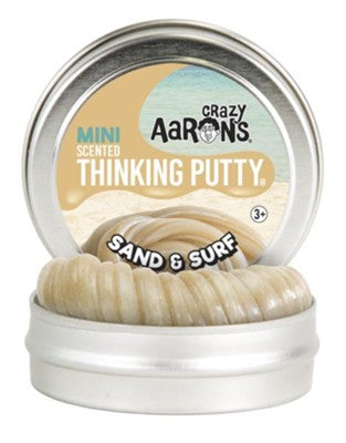 "2"" Sand & Surf Scented Crazy Aaron's Thinking Putty Mini Tin"