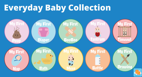#TummyTag Stickers Everyday Baby Collection