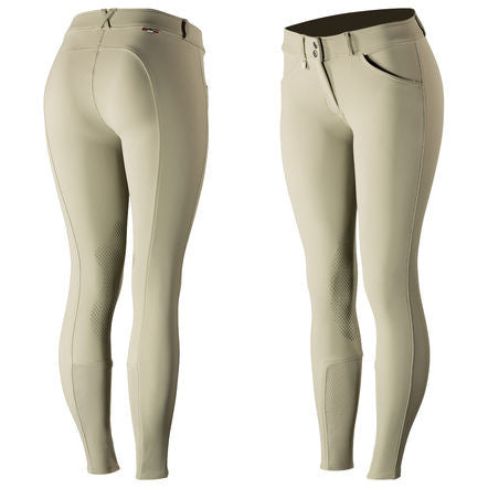 Horze Grand Prix Silica Knee Patch Breech