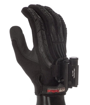 Guardian Gloves EXT Glove-Light System with P3P Light Gloves 221B Resources LLC Black Edition XS