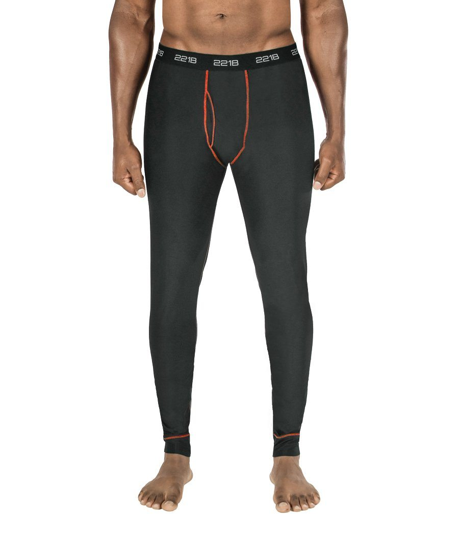 Maxx-Dri Silver Elite Long Underwear Apparel 221B Tactical S Black with Red Line Single Pack
