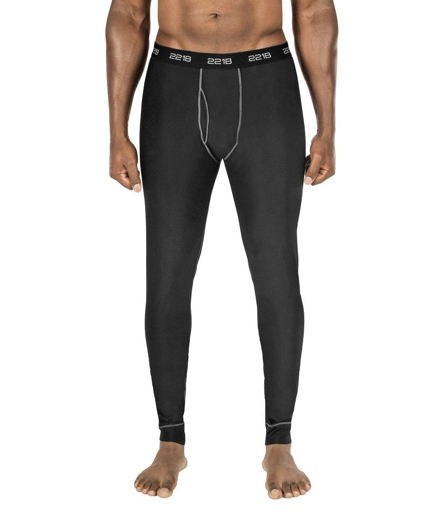 Maxx-Dri Silver Elite Long Underwear Apparel 221B Tactical S Black with Silver Line Single Pack
