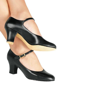 So Danca CH58 Character Shoe Black