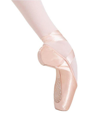 Capezio Cambré Broad Toe #3 Shank Pointe Shoe - Pink - Side - Style:1126W