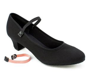 SO Danca Royal Academy Character Shoe Black