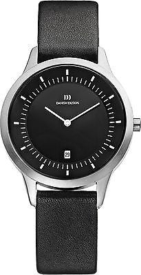 Danish Design IQ13Q984 Stainless Steel Leather Strap Men's Watch By Tirtsah