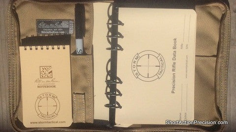 Storm Tactical 6 Ring Mini Binder Data Book Kit