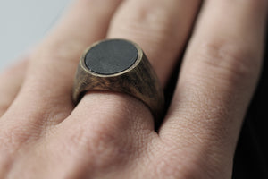 the new age signet ring