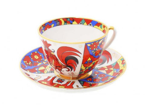 Cup & Saucer Spring Traditional Patterns