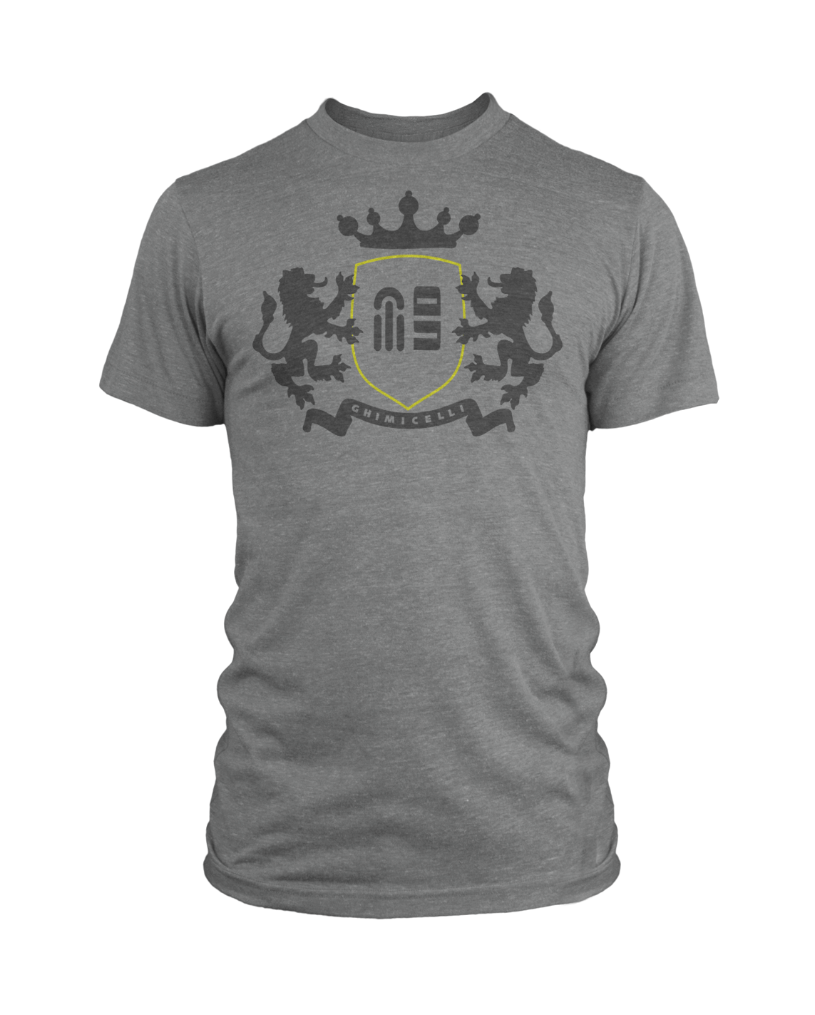MG Coat of Arms (Yellow Ringer) on Gray heather - Ghimicelli