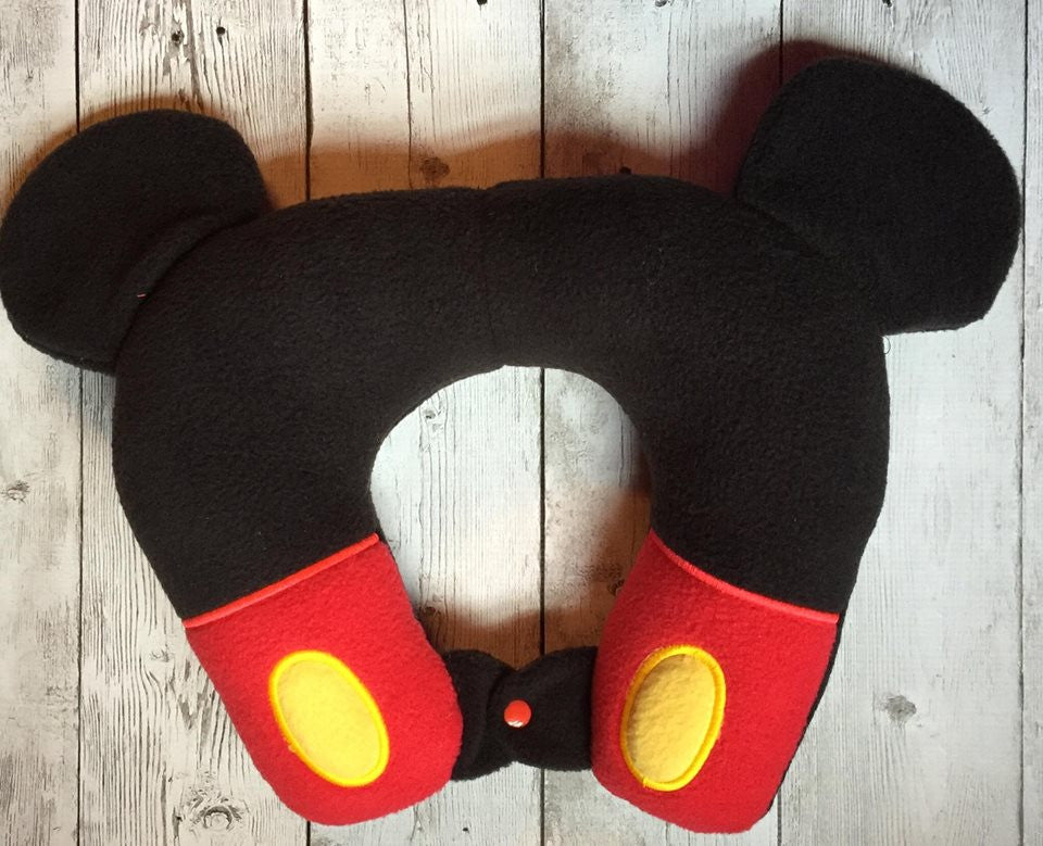 6X10 & 8X12 MR MOUSE NECK PILLOW