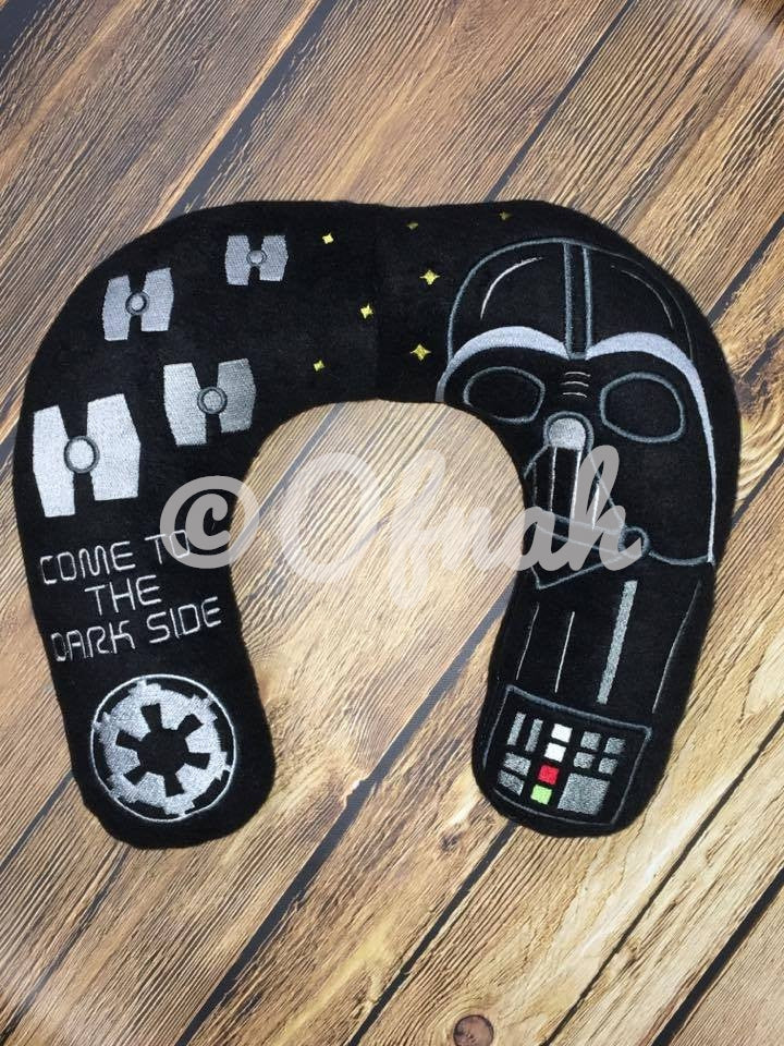 6X10 & 8X12 DARTH VADER INSPIRED NECK PILLOW