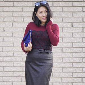 Review of Rita Phil custom tailored skirt by Grace L.