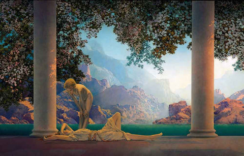 Maxfield Parrish Daybreak Poster