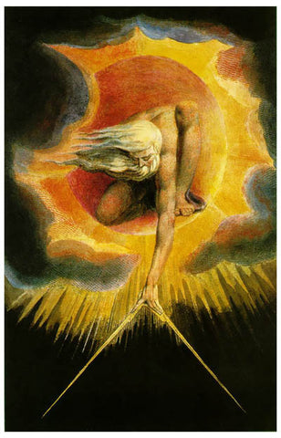 William Blake The Ancient of Days Poster