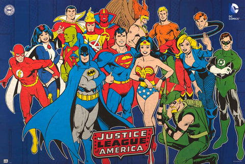 DC Comics Justice League Poster
