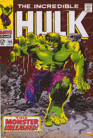 Incredible Hulk Marvel Comics Poster