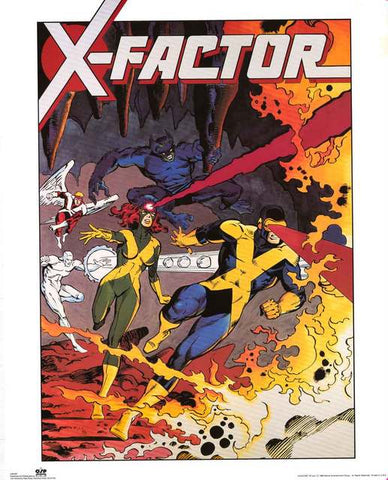X-Factor Marvel Comics Poster