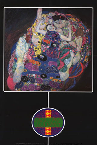 Gustav Klimt The Virgin Poster