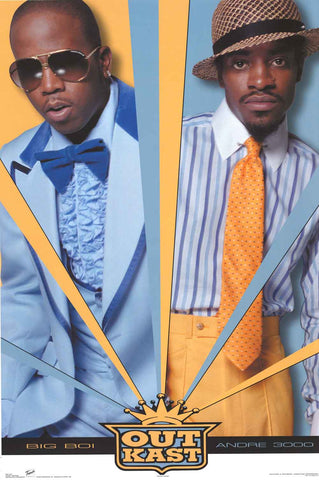 Outkast Rap Group Poster