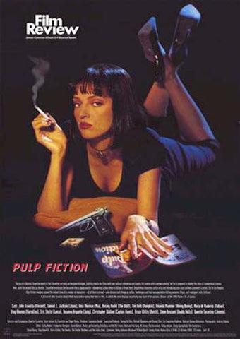 Pulp Fiction Film Review Poster